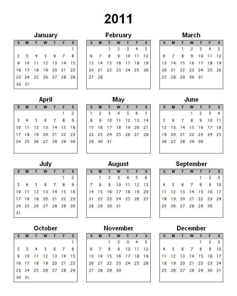 2011 Calendar! | Thfire.com