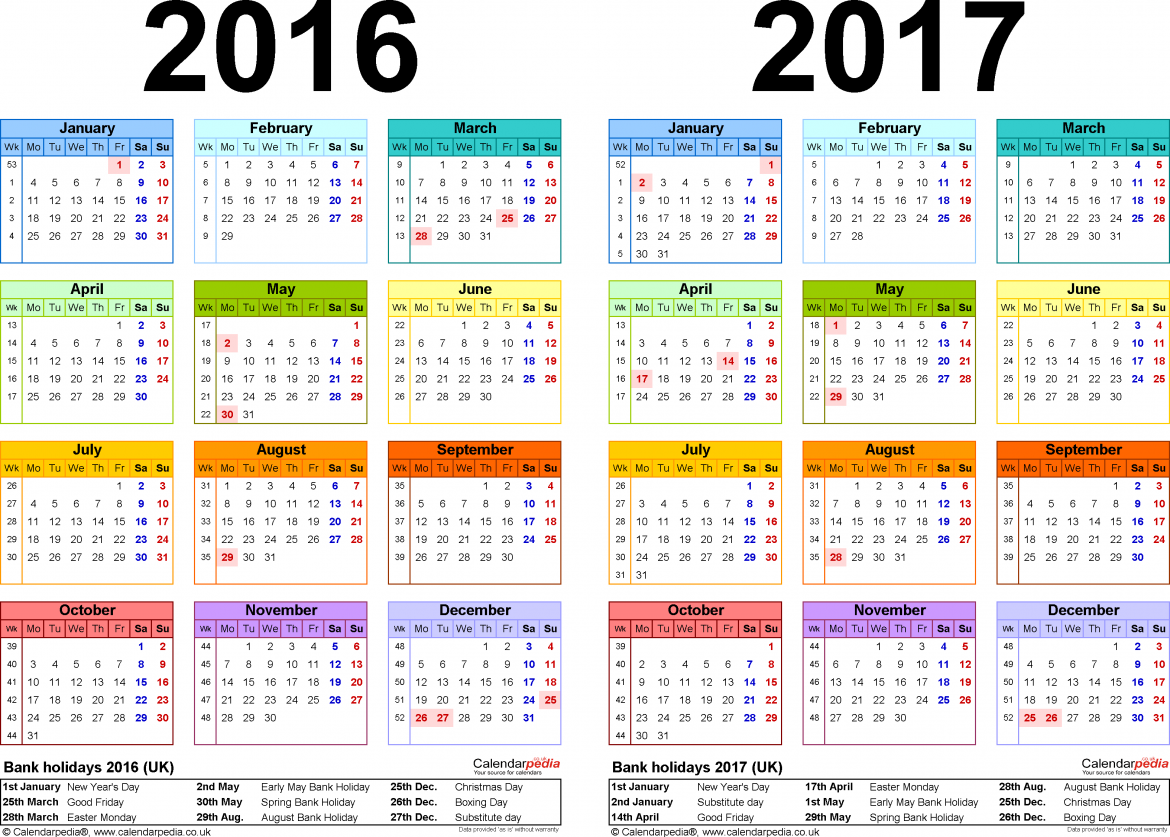 2017 Calendar Cute | printable calendar templates
