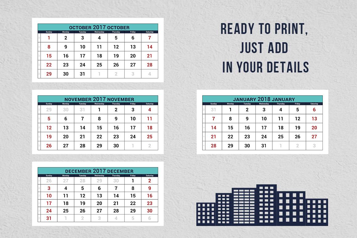 Calendar Quarterly : Quarterly calendar templates free printable