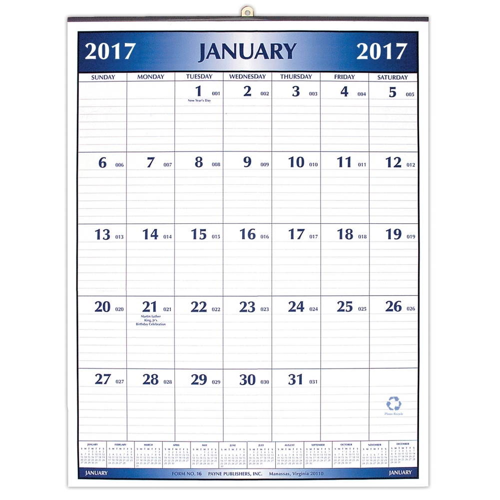 Large Office 2017 Wall Calendar: 0057668874177 | | Calendars.com