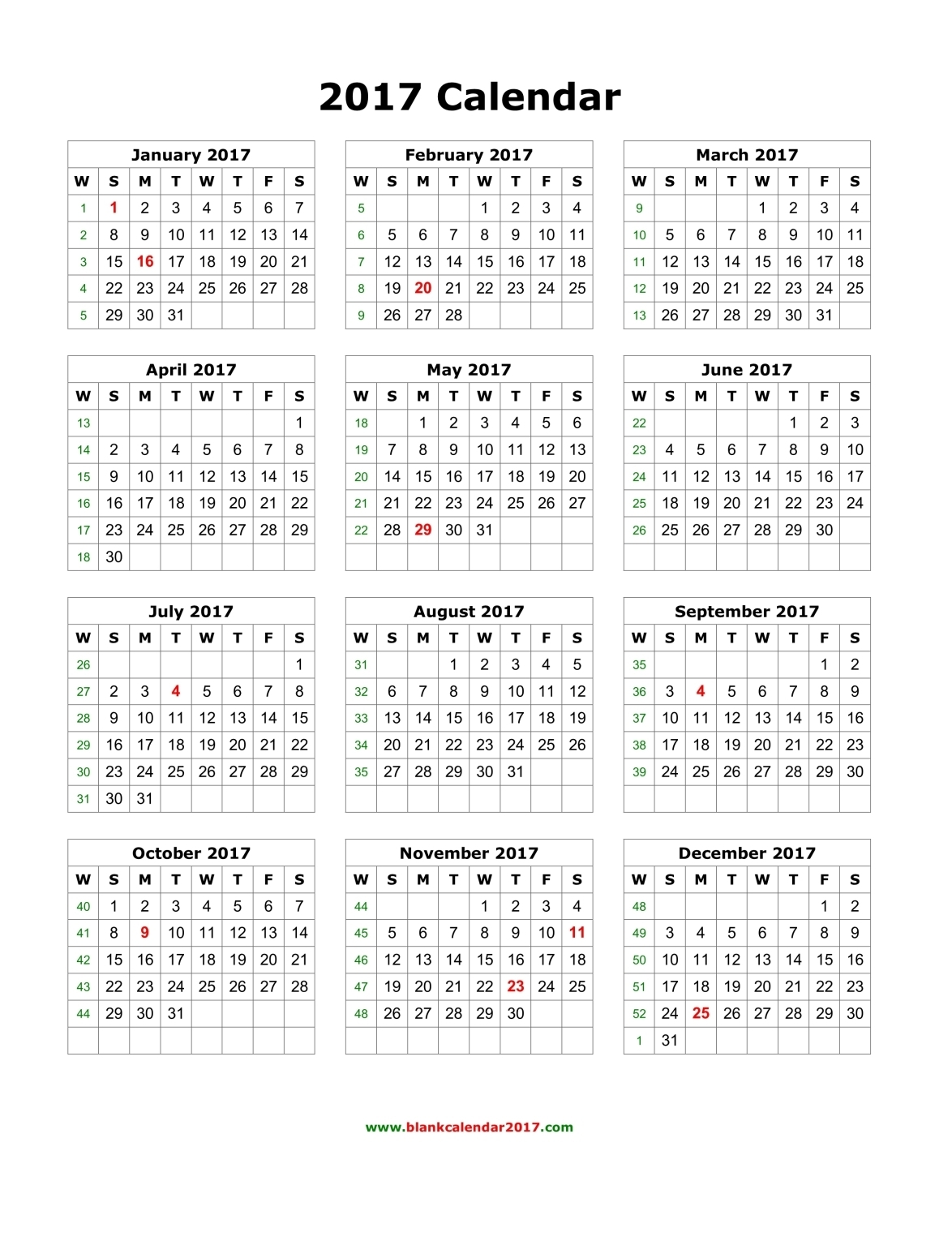 August 2017 Calendar Canad | yearly calendar printable