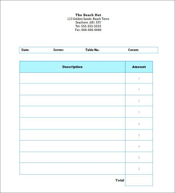 Best Photos of Invoice Word Doc Invoice Template Word Doc, Blank