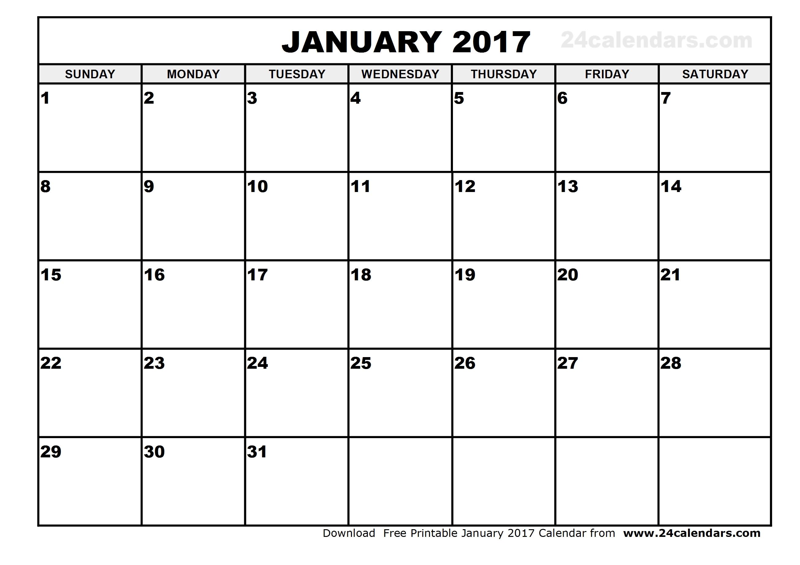 January 2017 Calendar Easter | 2017 calendar with holidays