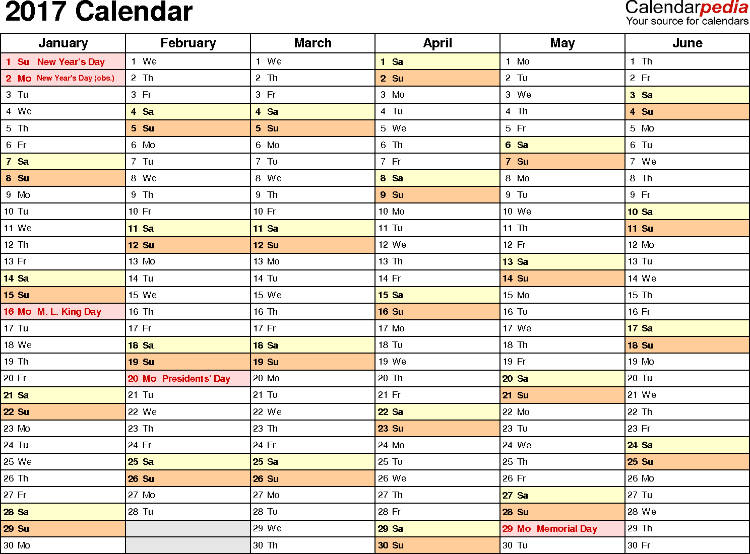Calendar February 2017 UK, Bank Holidays, Excel/PDF/Word Templates