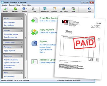 Free Invoicing Software | printable invoice template