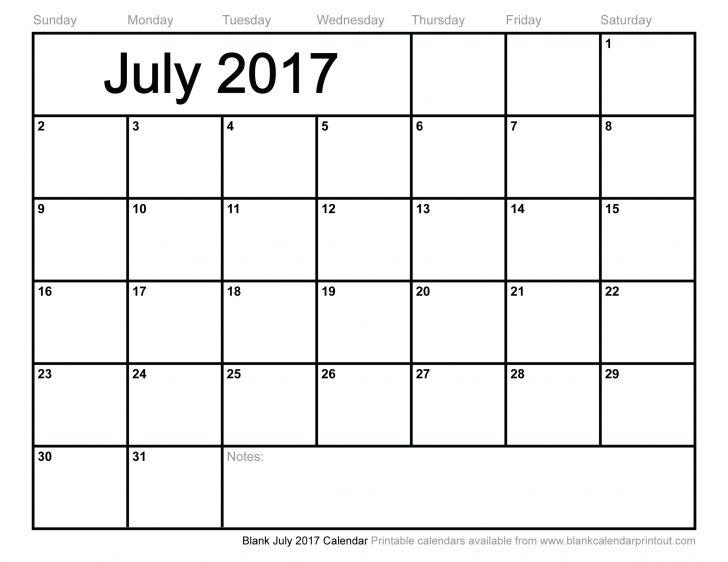 July 2017 Calendar Canada | 2017 calendar template