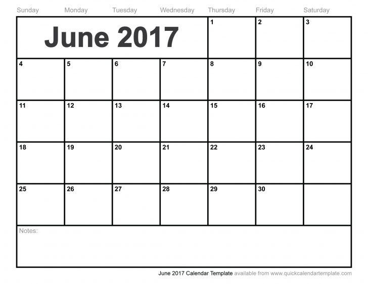 June 2017 Calendar Cute | free calendar 2017