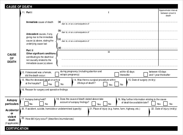 Medical certificate form pdf templates free printable for Fake medical certificate template download