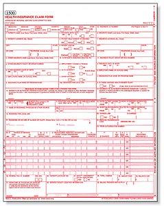TMPPM 2010 >6.5.3 CMS 1500 Blank Claim Form
