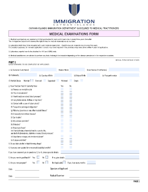 cayman island medical form Fill Online, Printable, Fillable, Blank