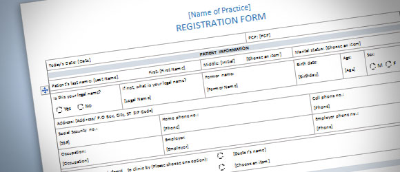 ms word forms template