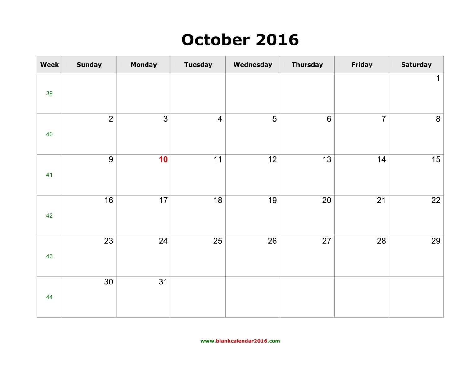 October 2017 Calendar Uk | weekly calendar template