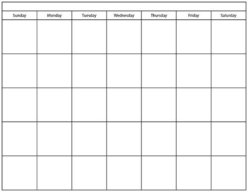 Printable Calendar Template   e commercewordpress