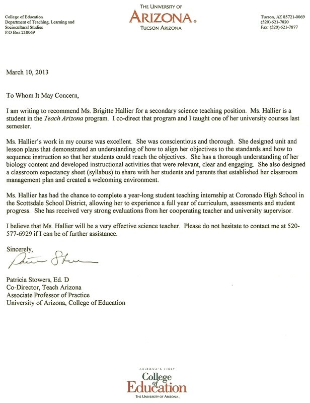 Recommendation Letter For Masters Templates Free Printable
