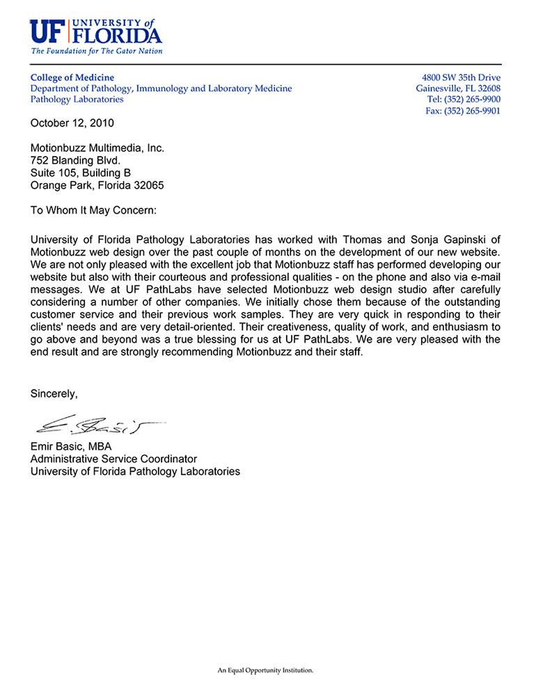 Letter Of Recommendation Healthcare Images Letter Format Formal