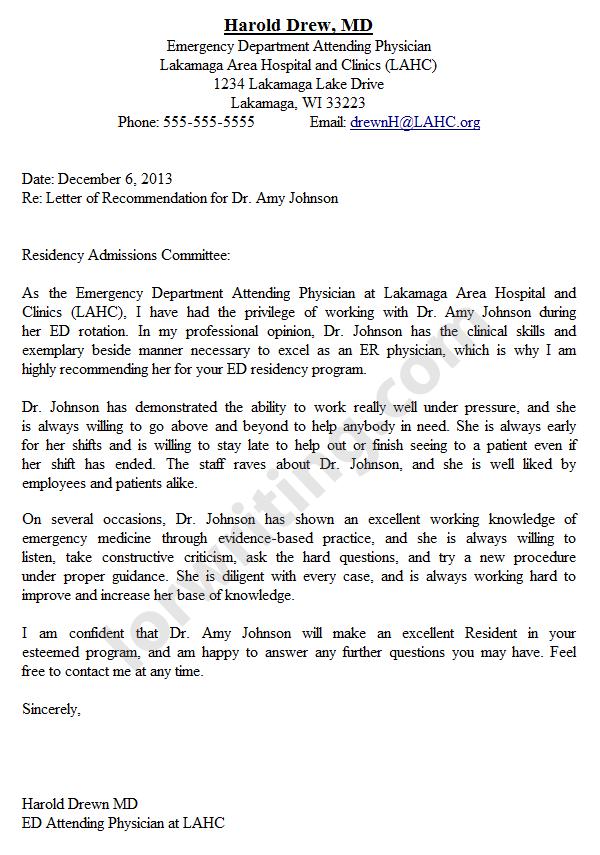 Medical recommendation letter format akbaeenw medical recommendation letter format altavistaventures Images