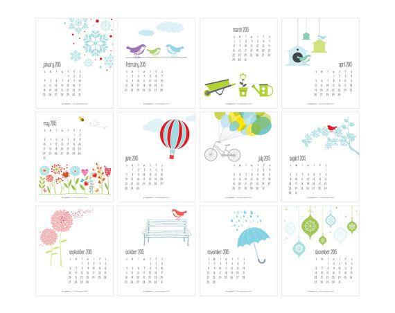 1000+ ideas about 2015 Calendar Printable on Pinterest | Printable