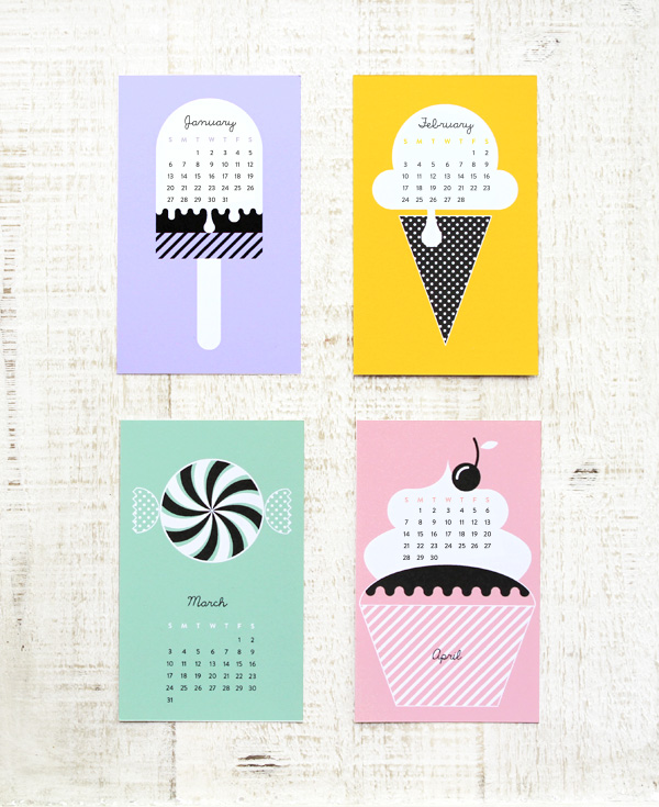 12 Cute, Free Printable Calendars for 2014 Yes Missy! | a
