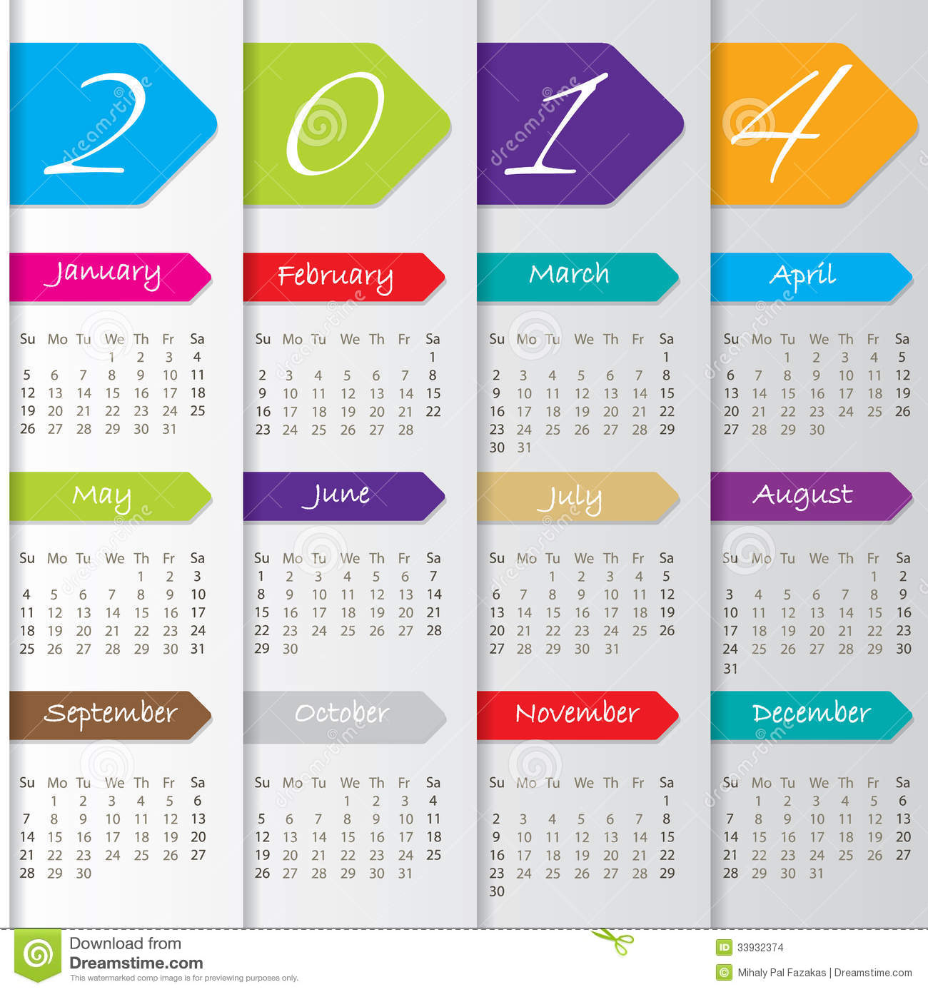 Yearly Calendar Design : Yearly calendar design templates free printable