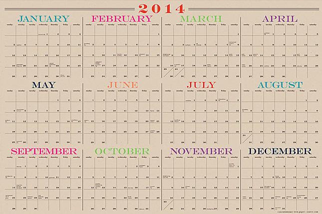 Year Calendar Dry Erase : Yearly wall calendar dry erase templates free printable