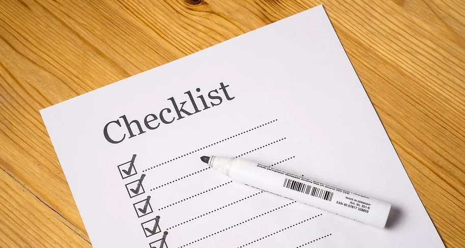 Travel Checklist Template