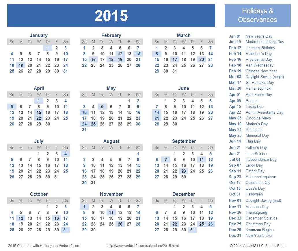 2015 calendar clipart black and white ClipartFest