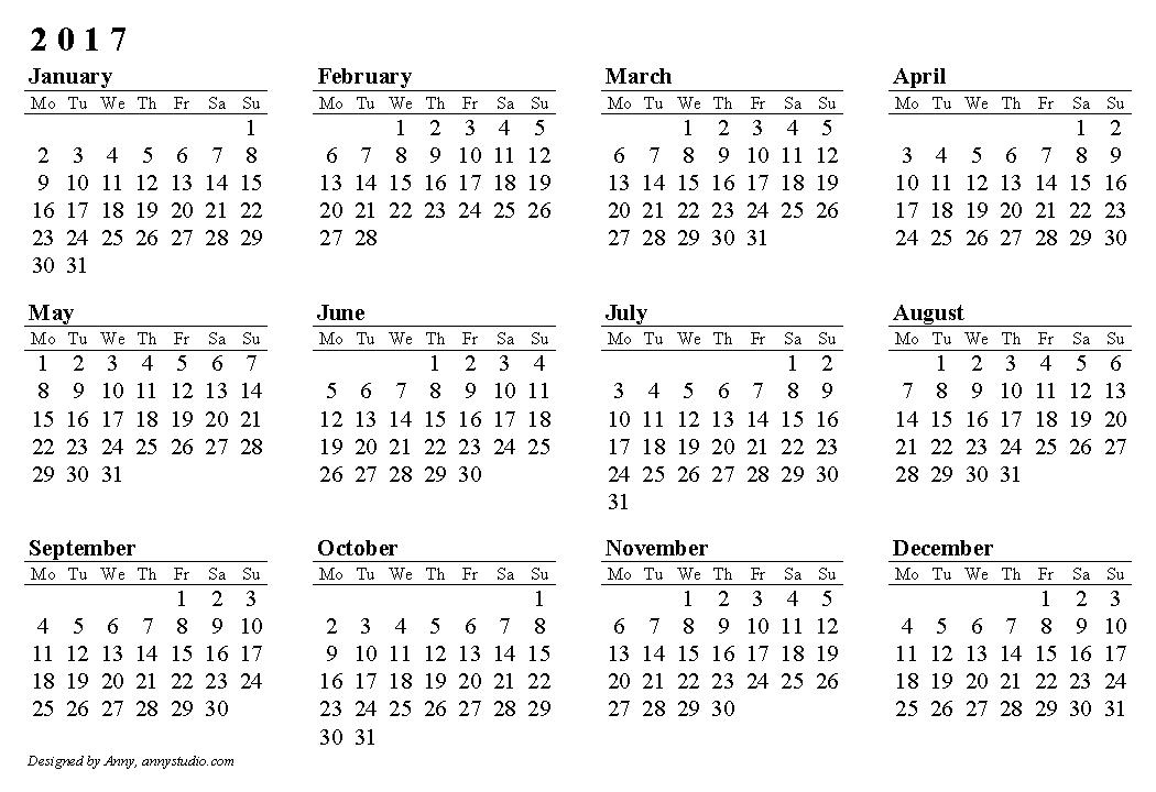 2017 Calendar Nz Template   printable calendar templates