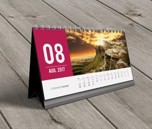 Desktop Calendar (almanac) 2017 Service SA