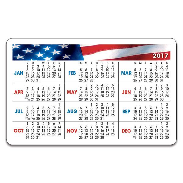 2017 Wallet Calendar   yearly calendar template