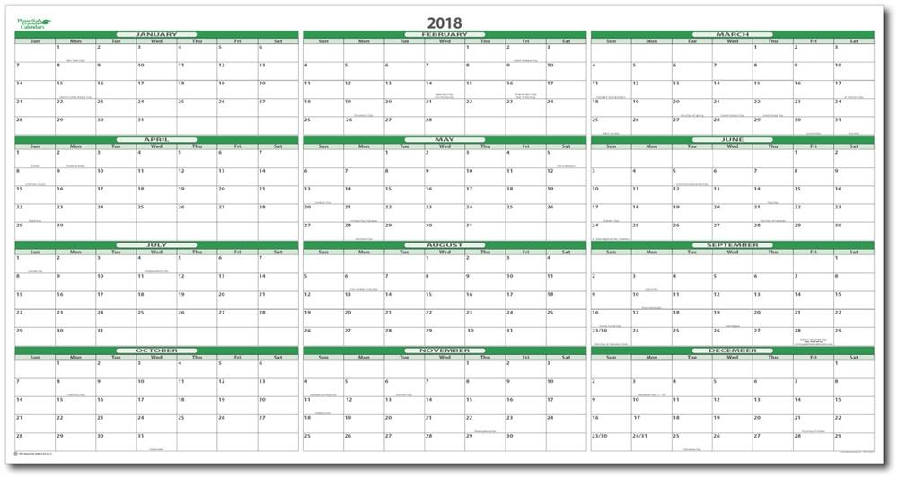 2018 Calendar 17 Free Printable Word Calendar Templates
