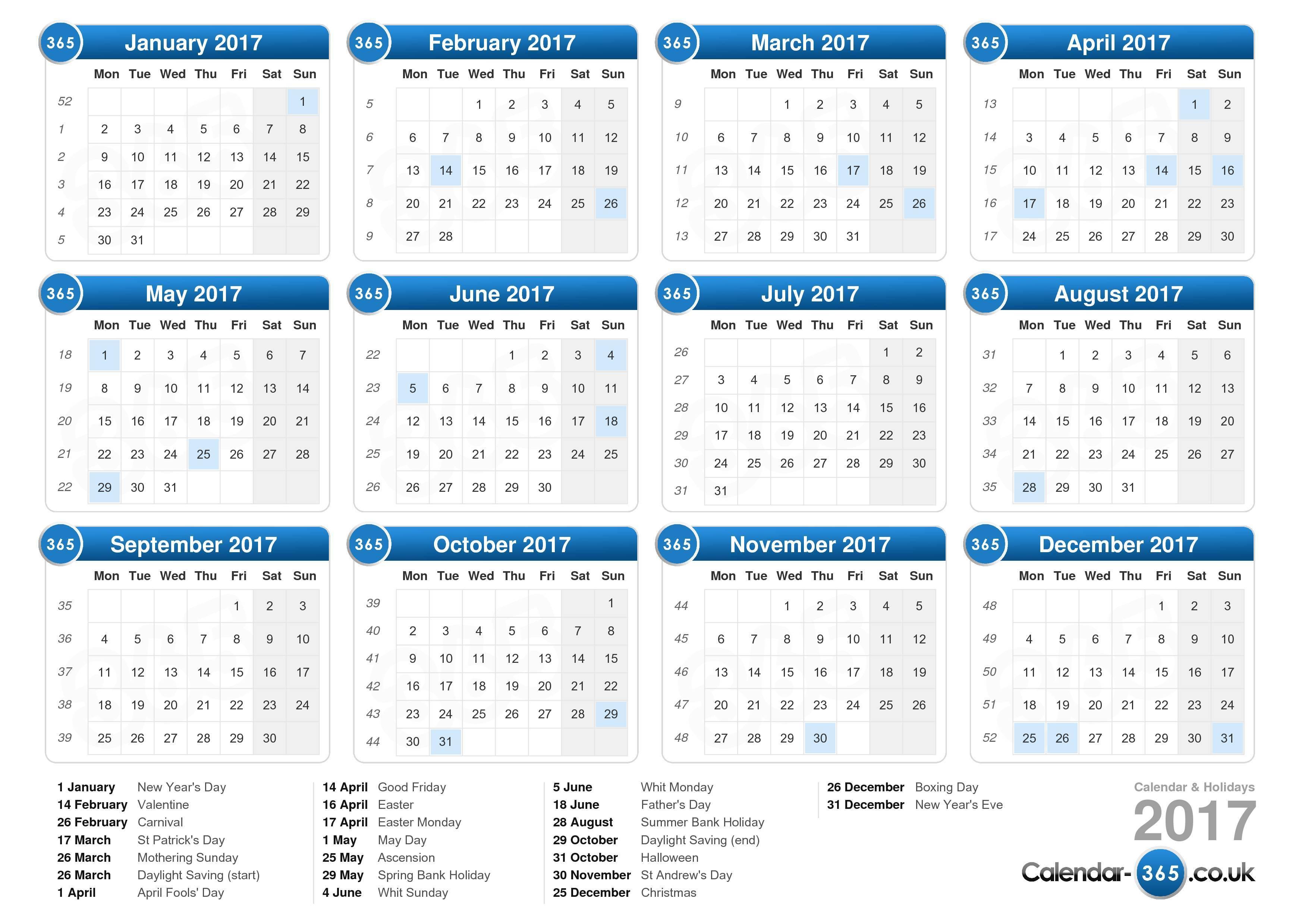 Blank April 2017 Calendar | weekly calendar template