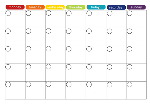 1000+ ideas about Blank Calendar on Pinterest | Free Printable
