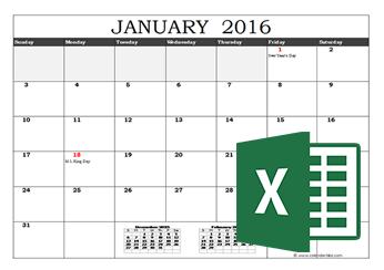 Printable 2016 2017 Calendar Template Yearly Calendar With Week