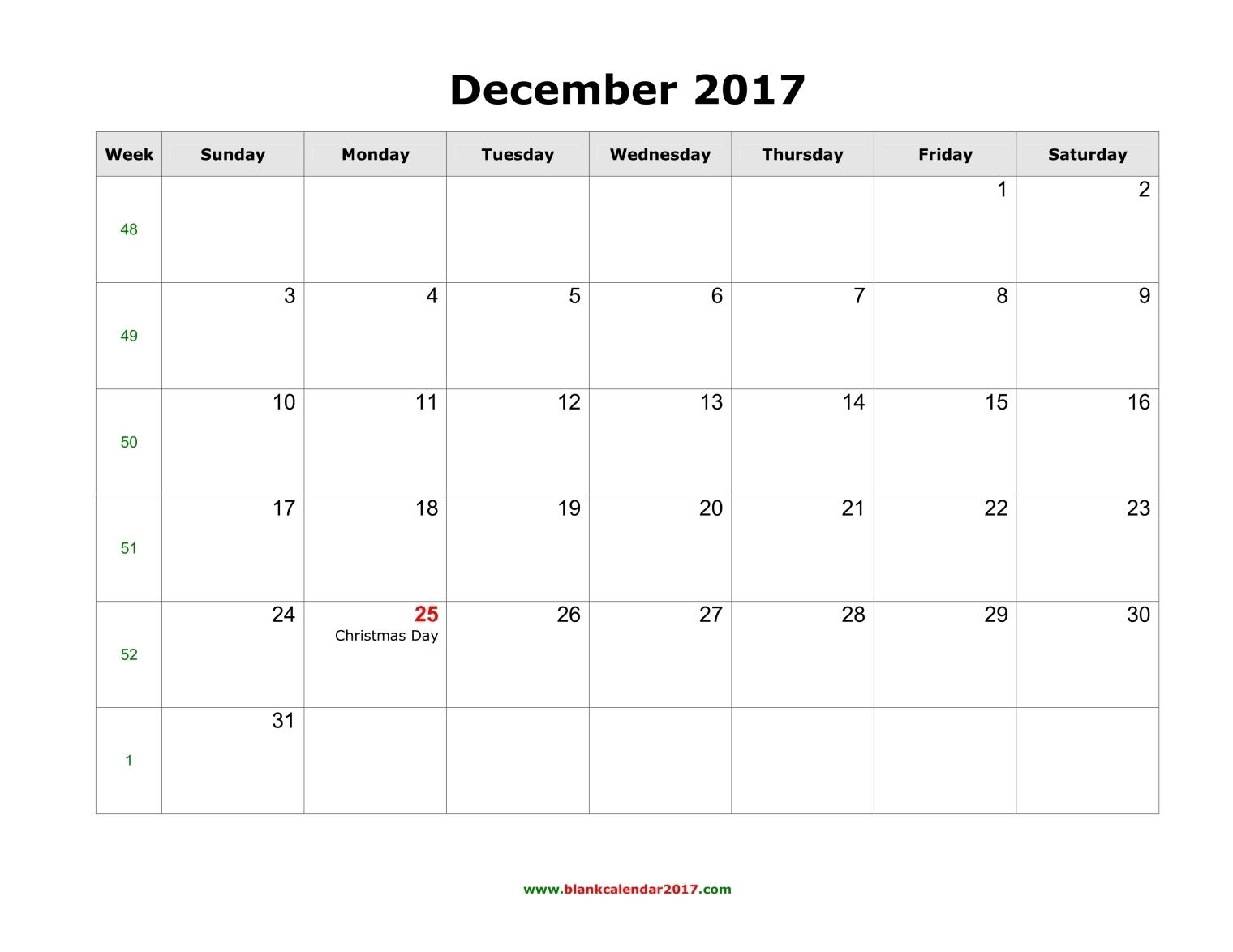December 2017 Calendar Cute | printable calendar templates