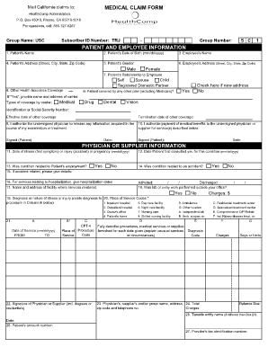 employee medical blank form Fill Online, Printable, Fillable