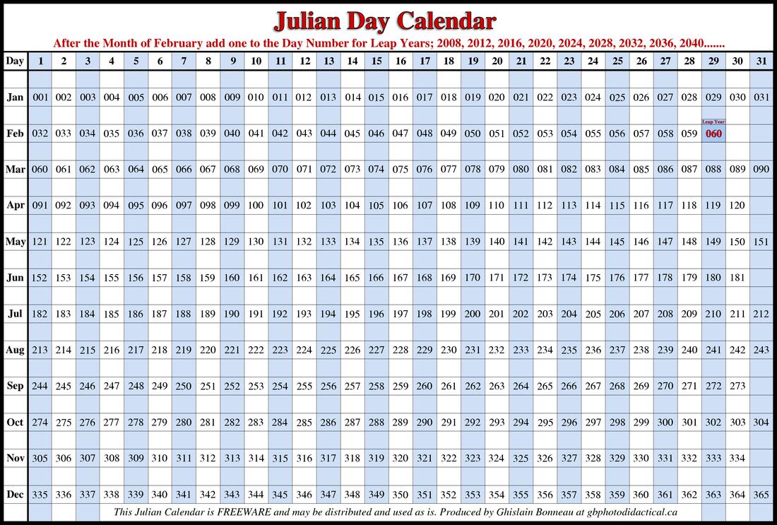 Julian Calendar 2017 Printable | Calendar Template