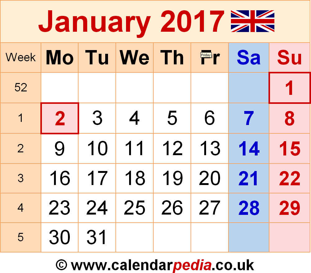 Calendar 2016 With Holidays Uk * Bogartgolf.com