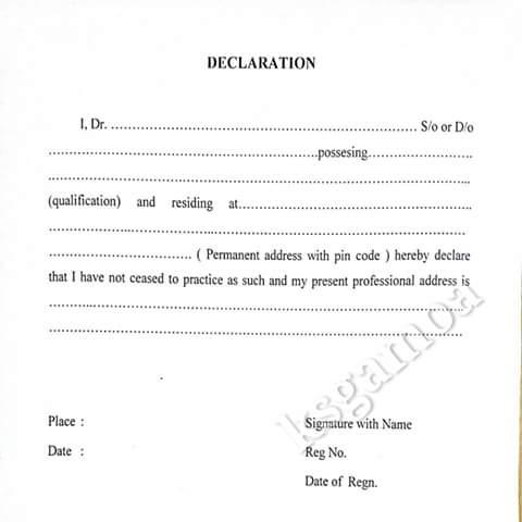 medical certificate format