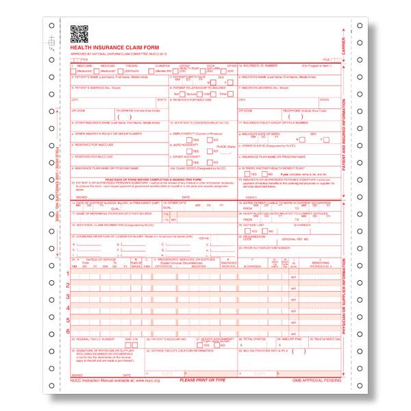 1500 Health Insurance Claim Form, Health Insurance Claim Form 1500