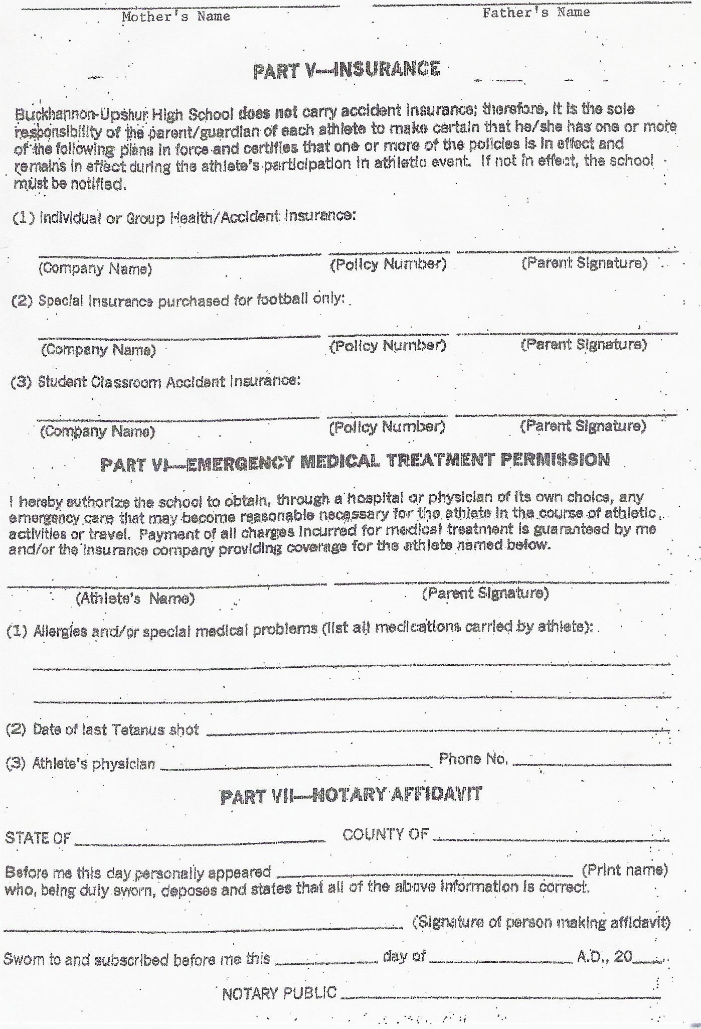 sample insurance form Fill Online, Printable, Fillable, Blank