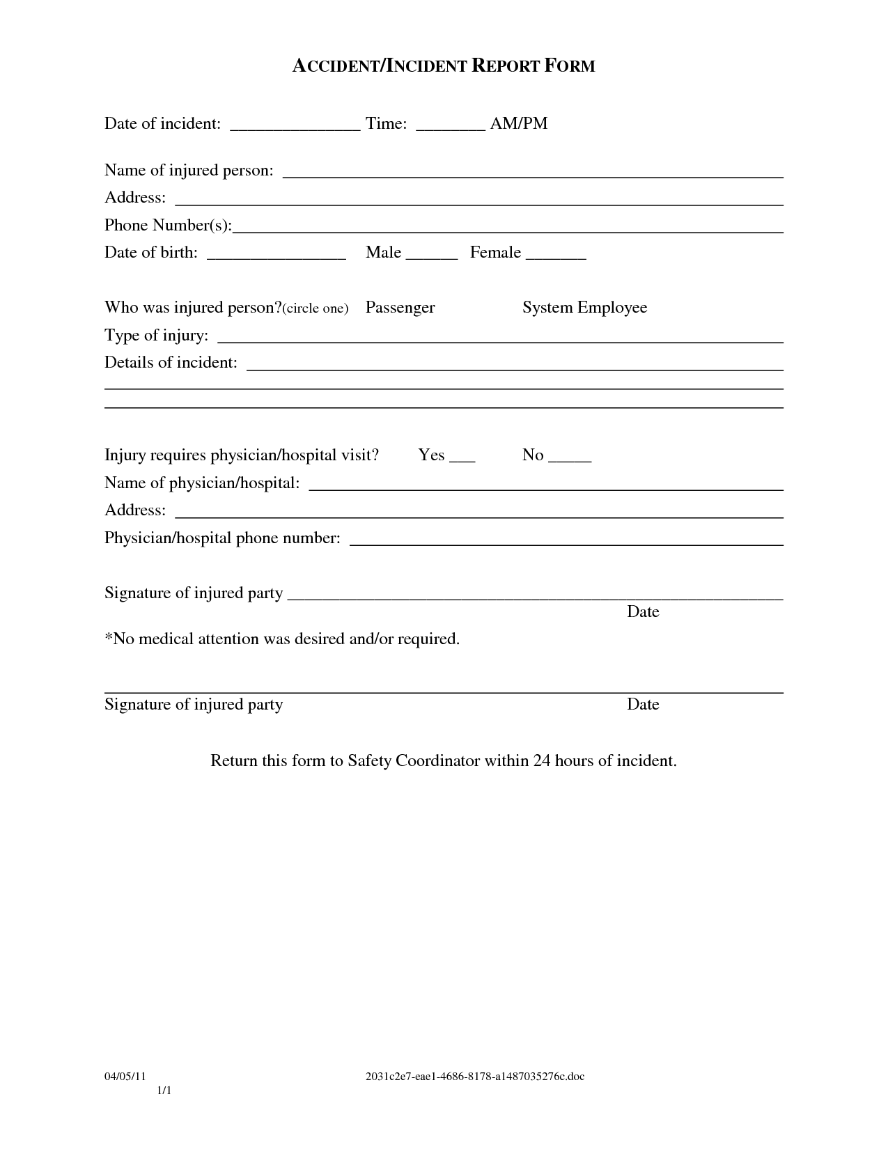 Medical Records Release Form Templates Free Printable Forms