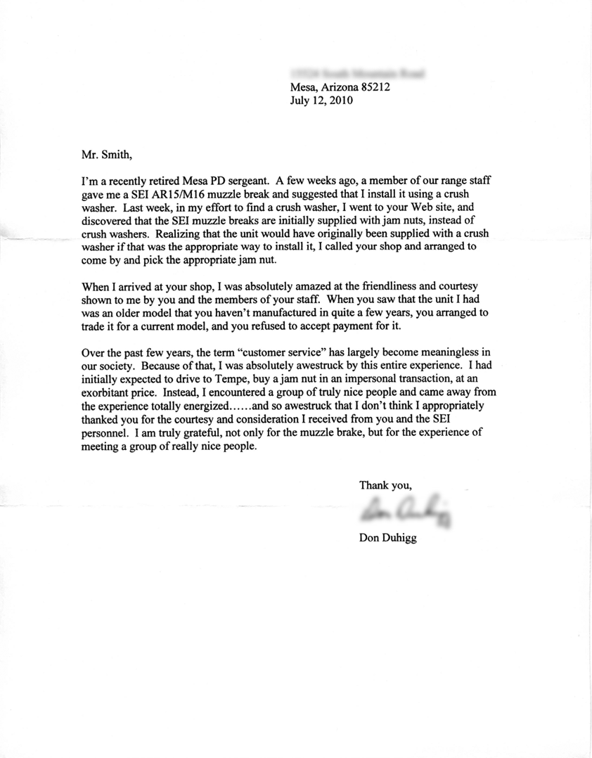 SSG Barcelo Letter of Recommendation