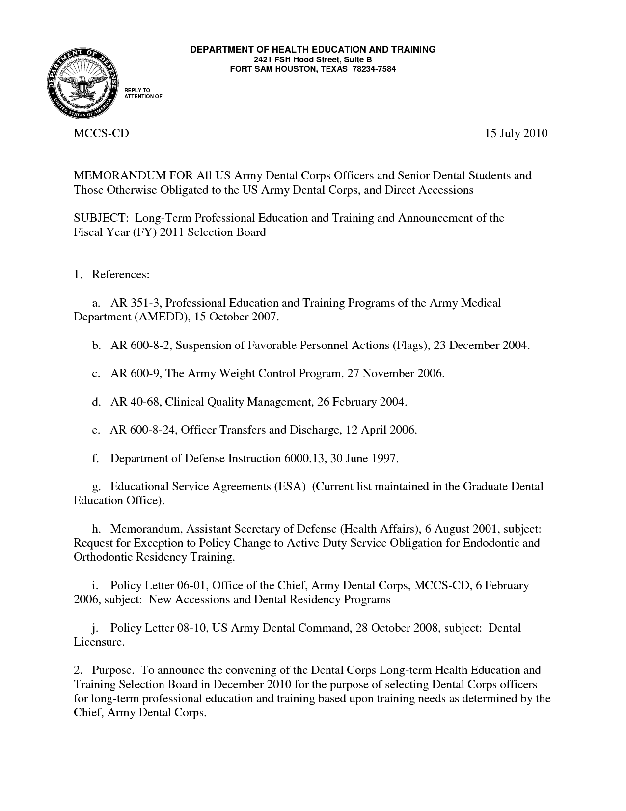 Military Letter Of Recommendation   Resume, Planner and Letter