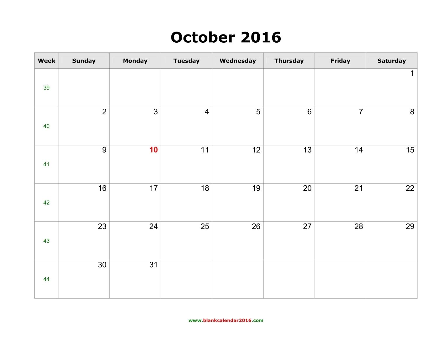 October 2017 Calendar Uk | weekly calendar template