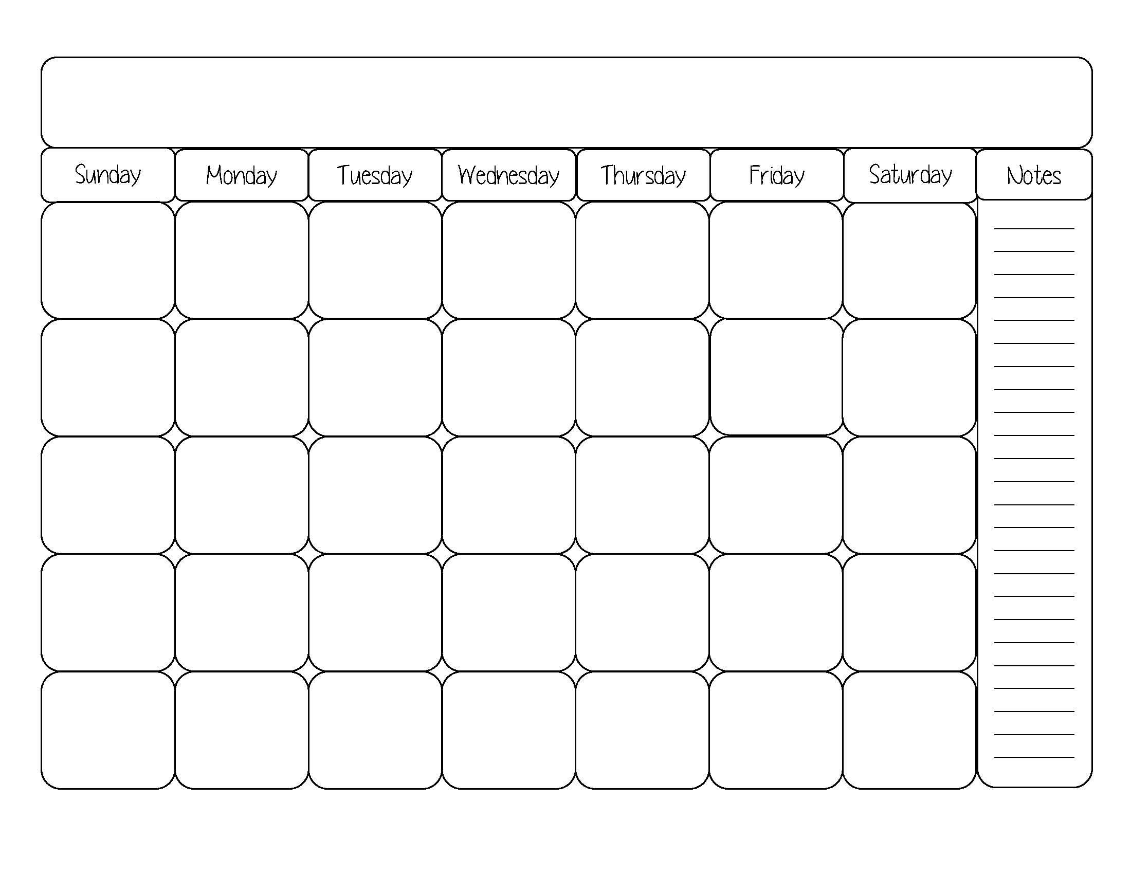 Free Week Calendar Template. free weekly schedule template
