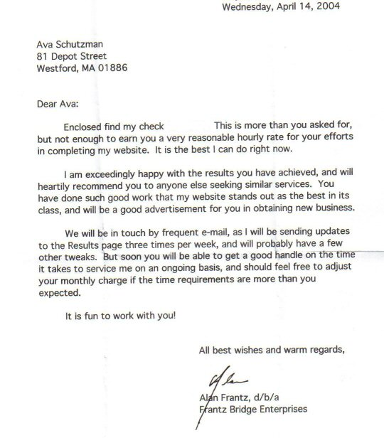Reference Letter Mba