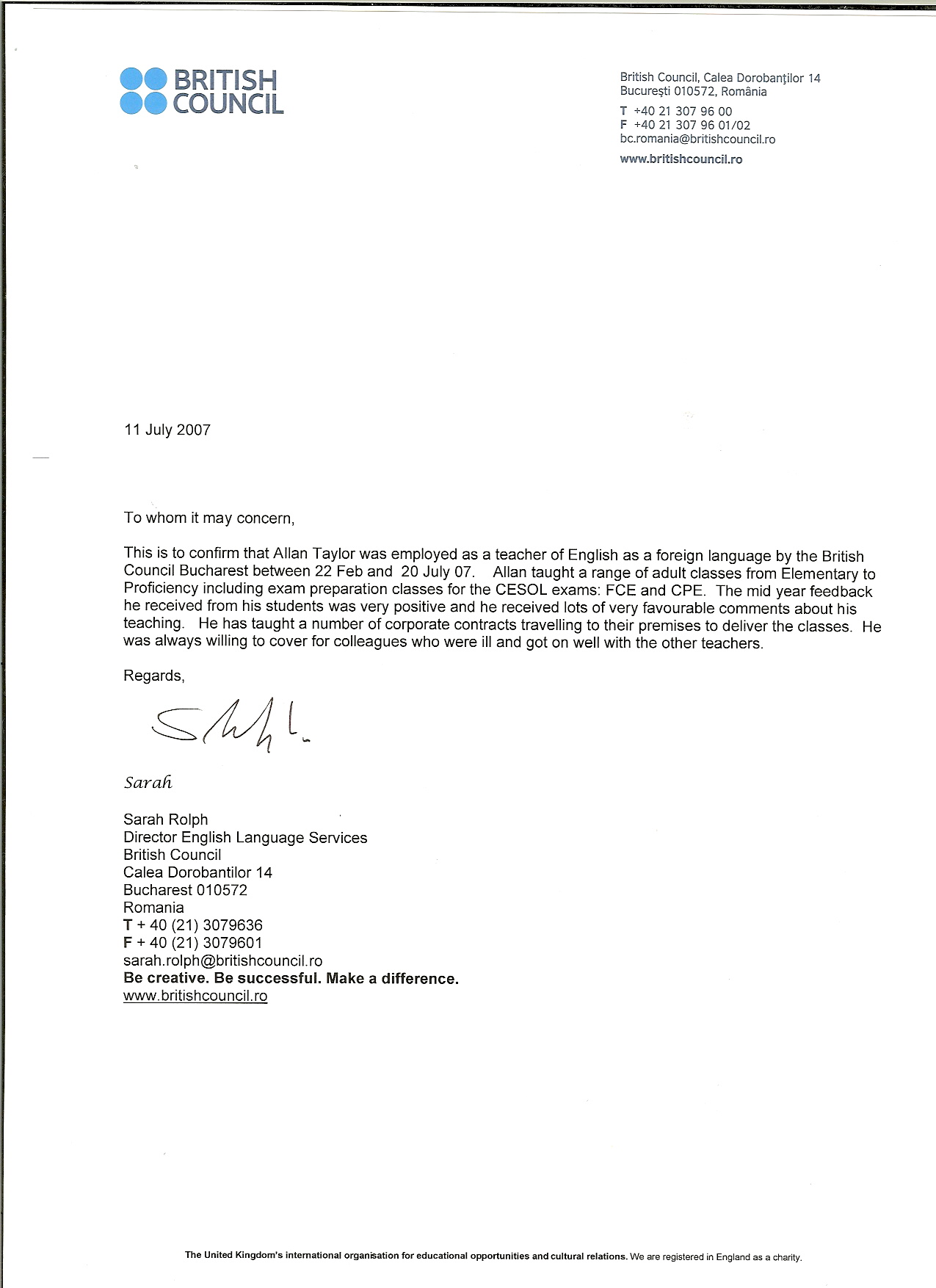 Sample Reference Letter For Student From Teacher invoice template