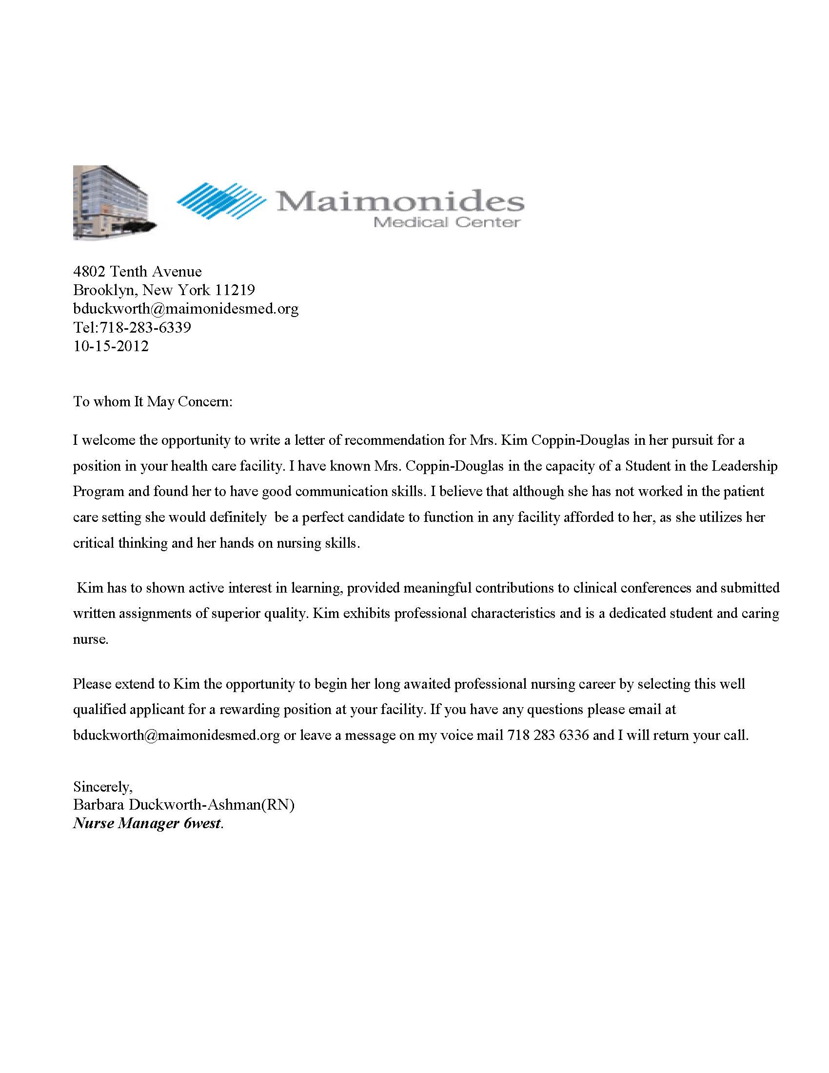 Writing Medical School Recommendation Letter Cover Letter Templates