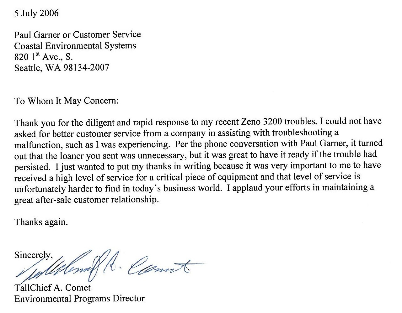 Letter Of Recommendation Based On Community Service Docoments