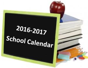 School Calendar 2016 2017 Strafford School